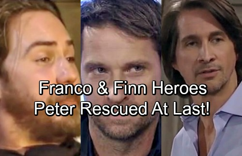 General Hospital Spoilers: Franco and Finn Rescue Peter in GH Shocker – Surprising Heroes Foil Dr. O's Plan