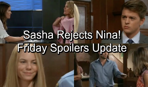 General Hospital Spoilers: Friday, October 12 Update – Michael and Nelle Face Off – Sasha Gets Spooked – Chase Surprises Valerie