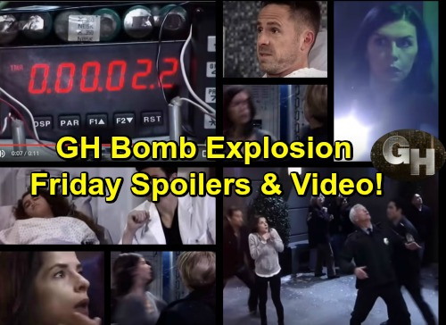General Hospital Spoilers: GH Bomb Explosion, Can It Be Defused - Liv Lures Julian Into Trap