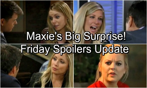 General Hospital Spoilers: Friday, May 4 Update – Nina and Peter's Feud Explodes – Lulu Ignores Dante's Warning – Maxie's Shocker
