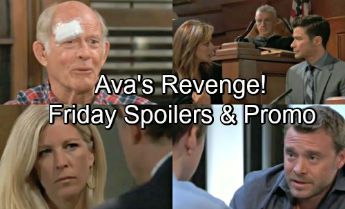 General Hospital Spoilers: Friday, August 10 – Furious Ava Confronts Kiki – Carly Back to Therapy – Chase Pressures Jason