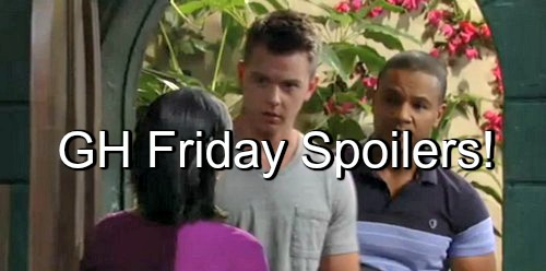 General Hospital (GH) Spoilers: Jordan's Jealous Over Andre and Anna – Michael and Felix Heat up Sabrina Search