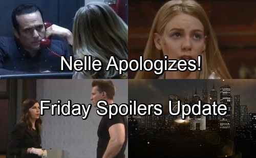 General Hospital Spoilers: Friday, June 1 Update – Nelle Shocks Michael – Jason Fears Peter Will Murder – Carly Demands Answers