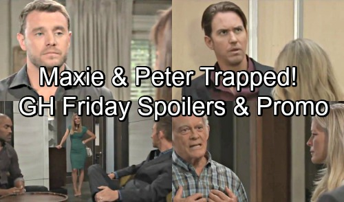 General Hospital Spoilers: Friday, September 14 – Maxie and Peter Trapped Together – Drew and Kim Clash – Mike's Emotional Announcement