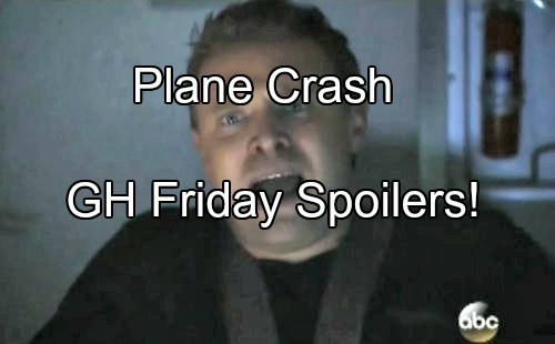 'General Hospital' Spoilers: Jason Crashes Plane in Greece, Lives at Risk - GH Serial Killer Strikes, Valerie Goes After Franco