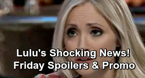 General Hospital Spoilers: Friday, December 14 – Lulu's Huge Shocker – Mike's Heartbreaking Meltdown – Nina Makes a Tough Choice