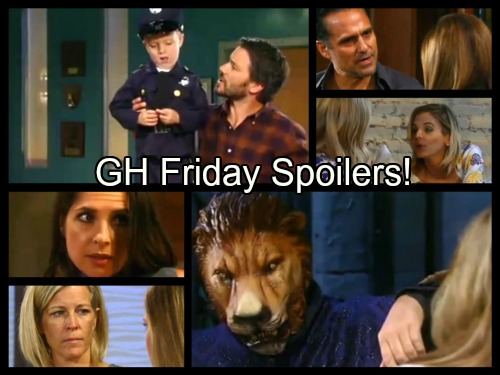 General Hospital Spoilers: Nathan Gets Cryptic Video - Sonny Admits Morgan Blame - Bobbie Suspects Nelle – Alexis Hides Booze