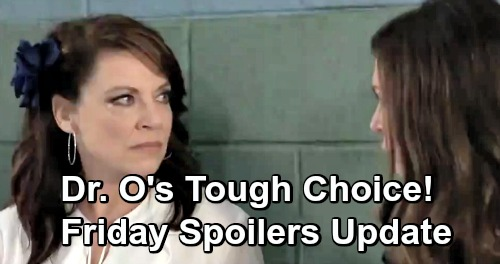 General Hospital Spoilers: Friday, December 7 Update – Dr. O Makes a Tough Choice – Sam's Case Heats Up – Kristina's in Too Deep