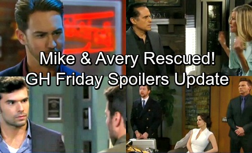 General Hospital Spoilers: Friday, April 20 Update – Dante Rescues Avery - Carly Defends Her Sanity – Lulu's Shocker