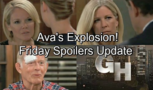 General Hospital Spoilers: Friday, August 10 Update – Ava's Fury Crushes Kiki and Griffin – Josslyn's Meltdown – Mike's Crushing Blow