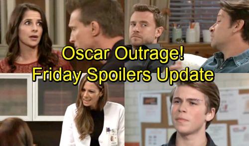 General Hospital Spoilers: Friday, September 21 Update – Oscar Gets a Deadly Clue – Liz Defends Secret Spillage – Sam Fears the Worst