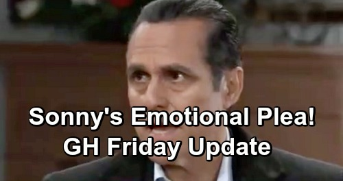 General Hospital Spoilers: Friday, January 4 Update – Sonny's Emotional Plea – Liz Works to Help Aiden – Chase's Self-Defense Class