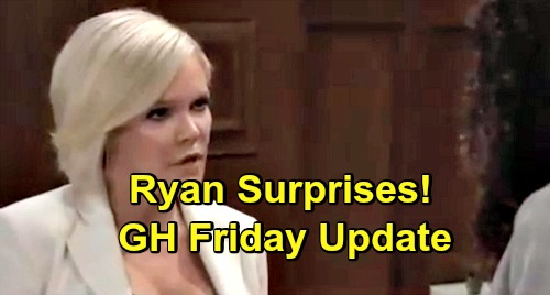 General Hospital Spoilers: Friday, April 12 Update – Nina Gets Bad News – Ryan Surprises - Valentin Foreshadows His Own Fate