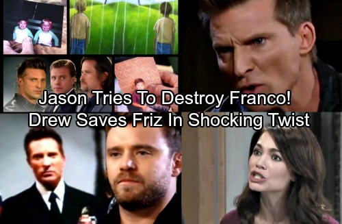 General Hospital Spoilers: Drew Saves Friz's Marriage, Blocks Jason's Mission to Destroy Franco In Shocking Twist
