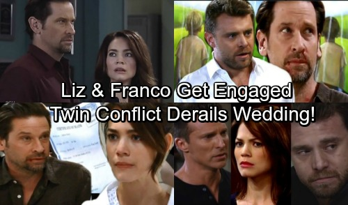 General Hospital Spoilers: Friz Engaged, Liz Proposes to Franco - Jason and Drew Drama Derails Wedding