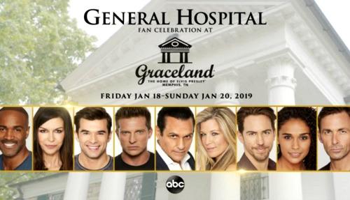 General Hospital Spoilers: GH Goes To Elvis Presley's Graceland - Stars Attend Fan Celebration Weekend