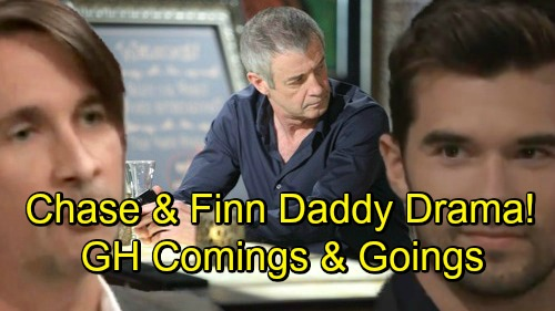 General Hospital Spoilers: Comings and Goings – Big Returns Shake Up Port Charles – Chase and Finn Face Daddy Drama