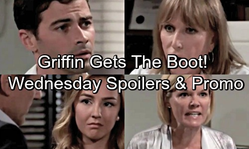 General Hospital Spoilers: Wednesday, August 15 – Griffin Suspended from GH – Kiki Faces Ava's Fury – Kristina's Back in Town