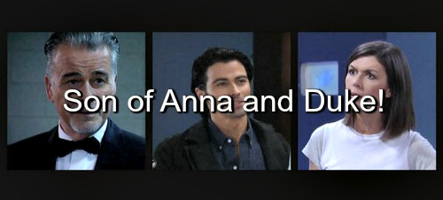 General Hospital (GH) Spoilers: Griffin Munro The Long Lost Son of Anna Devane and Duke Lavery?