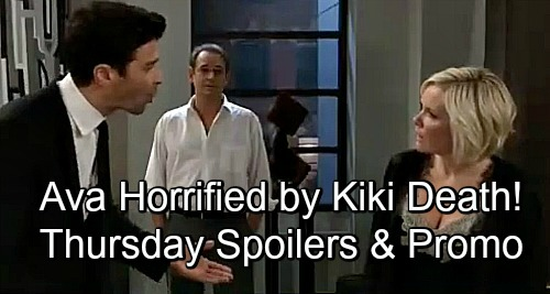 General Hospital Spoilers: Thursday, November 29 – Ava Horrified by Kiki's Death, Griffin Lashes Out – Julian Shocked – Dr. O Catches On