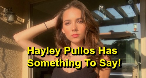 General Hospital Spoilers: Haley Pullos Shares Special Message – GH Fans Show Molly Some Love