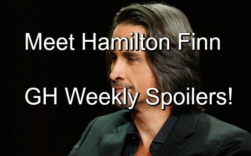 General Hospital (GH) Spoilers: Week of March 21 - Michael Easton Debuts as Hamilton Finn - Spinelli Cracks Hayden Case
