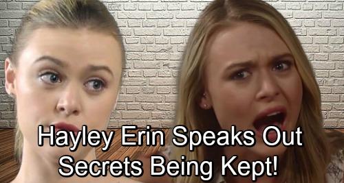General Hospital Spoilers: Hayley Erin Breaks Social Media Silence, Teases 'Lots of Secrets Being Kept' – Kiki's Murder or Recast?