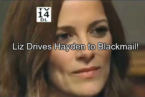 General Hospital (GH) Spoilers: Is Liz Scheming to Steal Nikolas from Hayden - Murder Blackmail as Ugly Accusations Surface