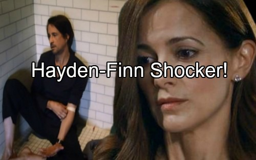 General Hospital (GH) Spoilers: Hayden Discovers Finn's Having a Fit, Assists in Recovery - Unlikely Romance Kicks Off