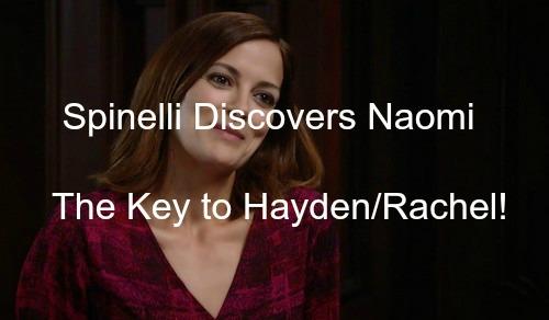General Hospital (GH) Spoilers: Spinelli Discovers Naomi Dreyfus, Key to Rachel's Past - Liz Hears Secret, Tells Nik