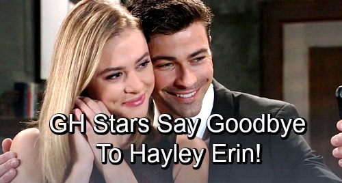 General Hospital Spoilers: GH Stars and Fans Say Goodbye to Hayley Erin – Kiki's Murder Brings Tough Farewell