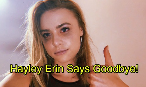 General Hospital Spoilers: Hayley Erin's Farewell to Kiki – Departing Star Thanks Fans and GH Family