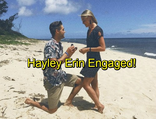 General Hospital Spoilers: Hayley Erin Announces Engagement to Logan Luedtke - GH Star Kiki Engaged!