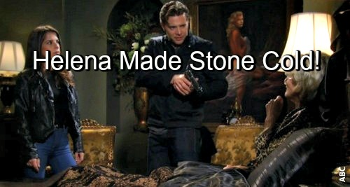 General Hospital (GH) Spoilers: Helena Created Stone Cold Jason - Curse On Sam Coming True