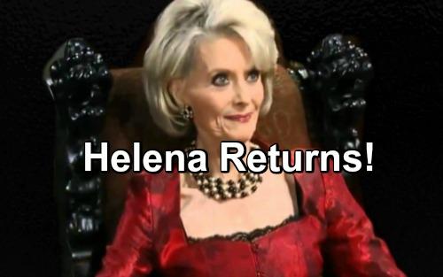 General Hospital (GH) Spoilers: The Resurrection of Helena Cassadine