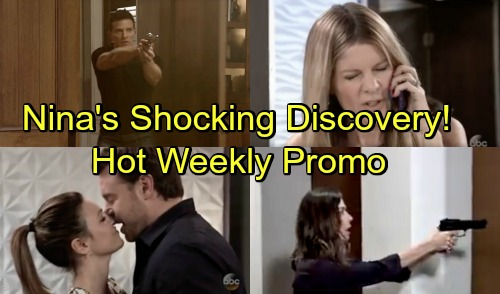 General Hospital Spoilers: Hot New Promo - Summer Heat - New Weekly Video Shows Romance, Discovery and Terror
