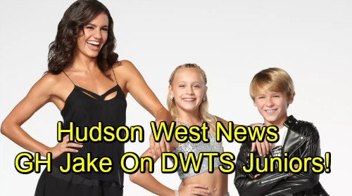 General Hospital Spoilers: Hudson West Joins Cast of Dancing With the Stars: Juniors – Exciting New Project for GH's Jake