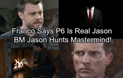 General Hospital Spoilers: Franco Confirms Patient Six as Real Jason - BM Jason Goes on Mastermind Hunt
