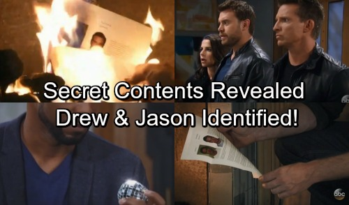 General Hospital Spoilers: Contents of Franco's Burned Document Revealed - Drew and Jason Identified