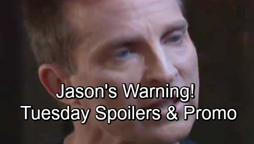 General Hospital Spoilers: Tuesday, September 11 – Alexis Gets Terrifying Kristina News – Chase's Investigation – Jason's Stern Warning