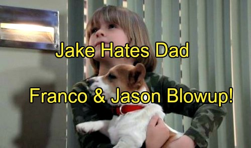 General Hospital (GH) Spoilers: Jake Rages at Dad Over Art Therapy Ban, Runs Away - Jason Goes After Franco