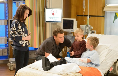 General Hospital (GH) Spoilers: Jason and Liz Unite for Jake at Shriners Hospital – Is This Rebecca Herbst Farewell?