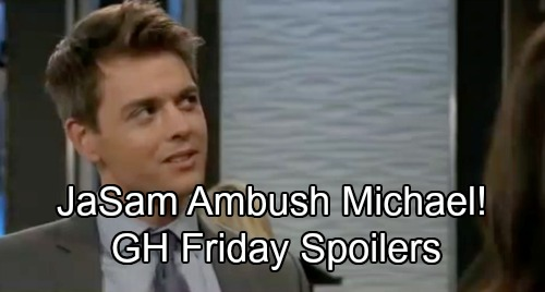 General Hospital Spoilers: Friday, November 16 – Kiki and Sasha's Fierce Faceoff – JaSam Ambush Michael – Lulu's in Panic Mode