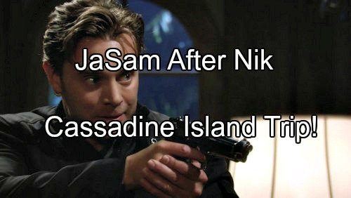 General Hospital (GH) Spoilers: JaSam Goes to Cassadine Island To Solve Nik Mystery – Discover Shocking Jake Secrets