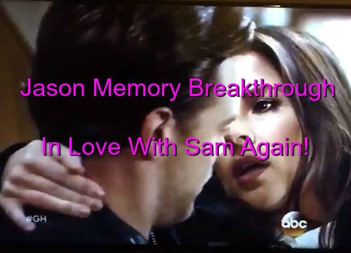 General Hospital (GH) Spoilers: Jason's Memories of Love for Sam Flood Back - JaSam Back on in Steamy Romance