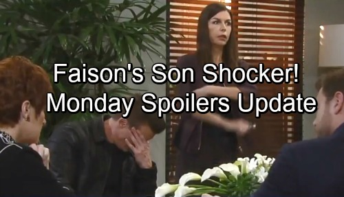 General Hospital Spoilers: Monday, February 19 Update – Faison's Son Shocking Will Twist – Griffin Delivers Crushing Blow