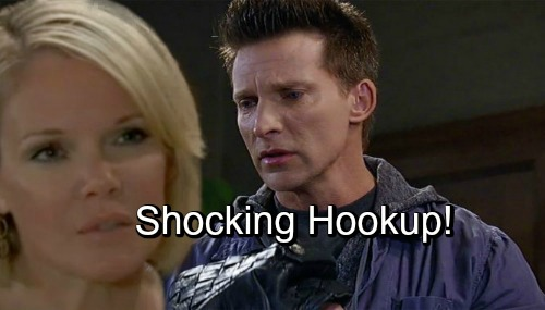 Who is sonny hookup on general hospital