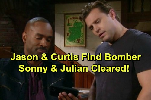 'General Hospital' Spoilers: Jason and Curtis Find Real Car Bomber – Sonny and Julian Cleared