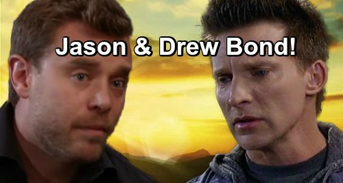 General Hospital Spoilers: Jason and Drew Come Together as Brothers - Mysterious Reason For Heartfelt Bonding