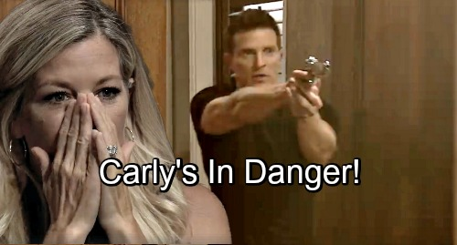 General Hospital Spoilers: Jason Suspects Danger Ahead For Carly - 'Kevin' Poses Threat